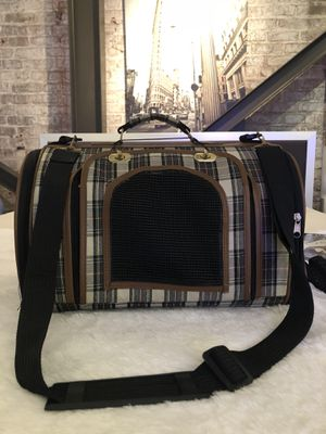Luxury Airline Approved Pet Carrier💜💜💜😻🐶🐩🐓 for Sale in San Francisco, CA
