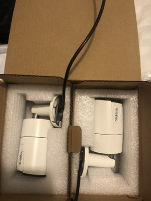Reolink 5MP PoE camera (pack of 2) for Sale in Kissimmee, FL