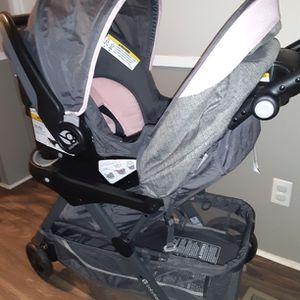 Baby Trend Skyline 35 Travel System Starlight Pink for Sale in Douglasville, GA