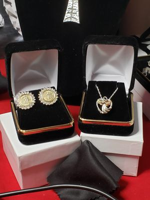 Vintage solid silver and gold set.... Black hills. for Sale in Meriden, CT