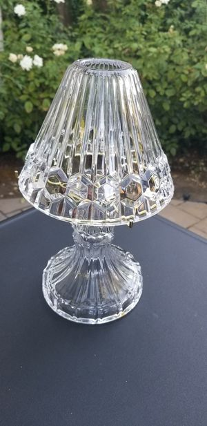 Princess House crystal lamp for Sale in Brentwood, CA