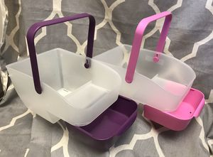 2 Plastic Organizing Caddy with drawer *$10 FOR BOTH* for Sale in Anaheim, CA