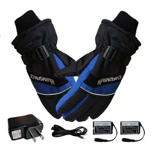 Winter USB Hand Warmer Electric Thermal Gloves Rechargeable Battery Heated Gloves Cycling Motorcycle Bicycle Ski Gloves Unisex for Sale in Cabin John, MD