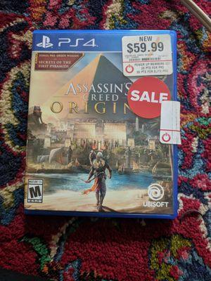 Assassin's Creed Origins PS4 for Sale in Lorton, VA