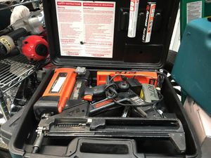 Ramsey Nailgun with Charger and battery in case for Sale in Orlando, FL