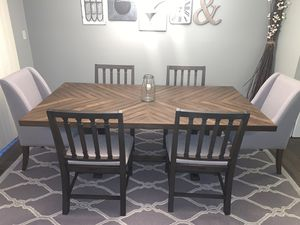 Magnolia Home Dining Room Table And Chairs for Sale in Erie, PA
