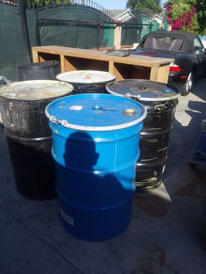 55 gallon drums for Sale in South El Monte, CA