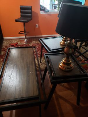 Living room set with two lamps for Sale in Centreville, VA