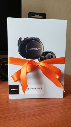 Brand New Sealed BOSE SOUNDSPORT free headphones for Sale in Los Angeles, CA