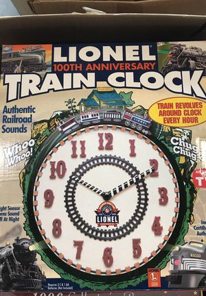 Lionel 100 anniversary clock for Sale in Grosse Pointe Park, MI