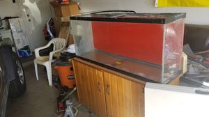 55 gallon aquarium with stand for Sale in Chandler, AZ