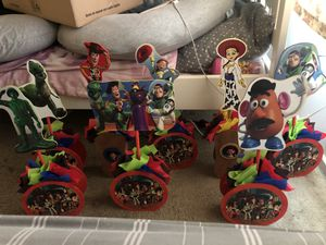 Toy story Center pieces for Sale in Los Angeles, CA
