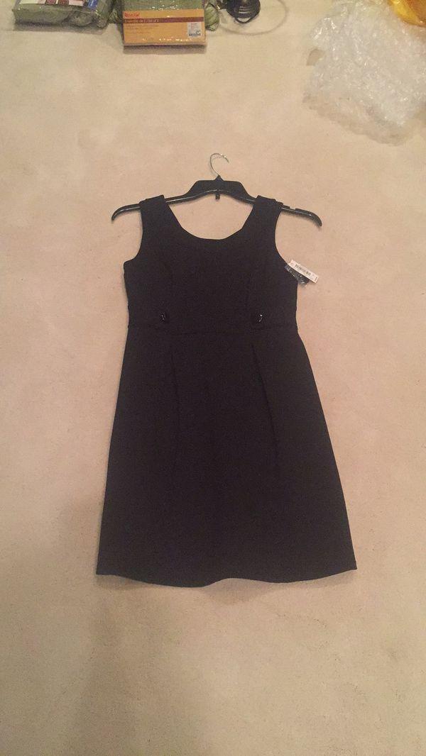 White House Black Market New Black Work Dress