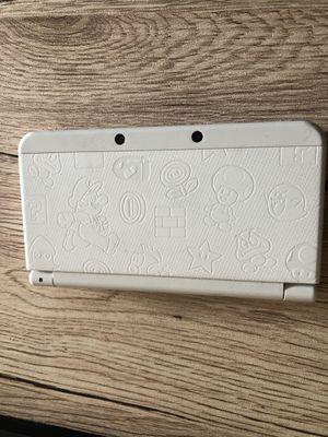 Nintendo super mario white 3DS for Sale in Seattle, WA