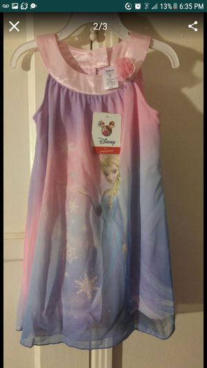 BRAND NEW! SIZE 4T DISNEY FROZEN ELSA DRESS!! for Sale in West Covina, CA