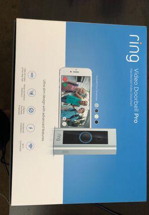 Ring Doorbell Pro for Sale in Jurupa Valley, CA