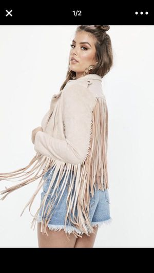 Jacket with fringes for Sale in Fort Myers, FL