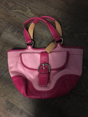 Authentic coach purse for Sale in Dallas, TX