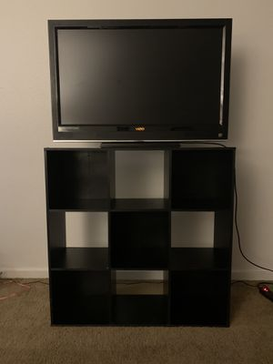 Box shelves & TV for Sale in Seattle, WA
