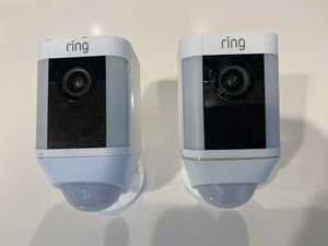 2 Ring wireless spotlight surveillance cameras for Sale in Bellevue, WA