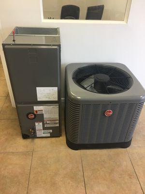 Rheem air conditioner, Ac sales 3 ton aire acondicionado for Sale in Orlando, FL