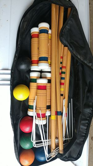 croquet set for Sale in Brooktondale, NY