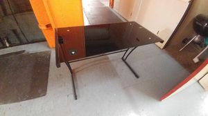 Metal and Glass Desk for Sale in San Diego, CA