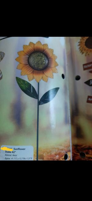 BRAND New sunflower stake for Sale in Ontario, CA