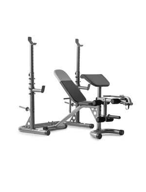 Weider xrs 20 squat/bench/preacher curl set for Sale in Brea, CA
