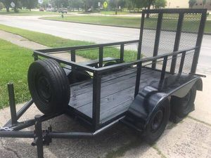 2015 Trailer - 8 x 4 - Solid Construction - Weather Proof - DUAL AXLE for Sale in Houston, TX