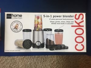 Cooks 5 in 1 power blender for Sale in Arlington Heights, IL