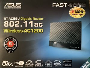 ASUS AC1200 wireless router for Sale in Beaverton, OR