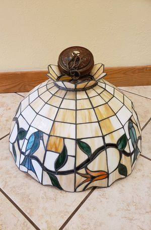 Vintage Style Stained Glass Chandelier for Sale in Sunrise, FL