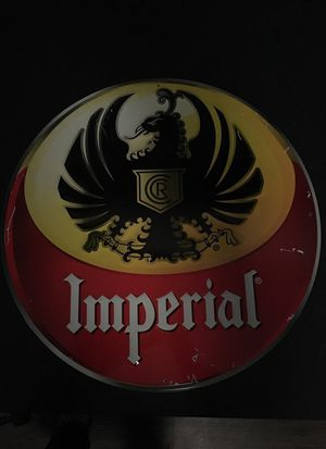 Imperial Beer Aluminum Sign for Sale in Baltimore, MD