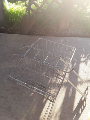 Bike rack with baskets for Sale in Burbank, IL