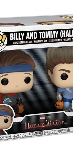 Funko Pop Billy And Tommy Halloween Official Sticker Wandavision for Sale in Alexandria,  VA