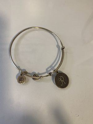 """Alex and Ani - """"R"""" Silver Bracelet for Sale in Pawtucket, RI"""