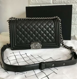 Chanel Boy Bag New Check Description for Sale in Chicago, IL