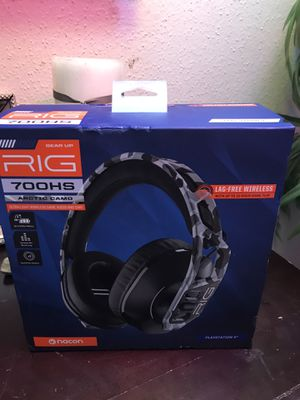 GAMING HEADSET PC/PS4 RIG 700HS ARTIC CAMO for Sale in Webster, TX