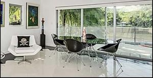 Kartell glossy oval black table and 4 Eros dining chairs for Sale in Miami, FL