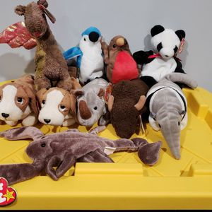 Ty Beanie Babies 1998 Set Of 10 for Sale in Norwalk, CA