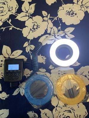 Ring flash for any dsrl camera for Sale in Miami, FL