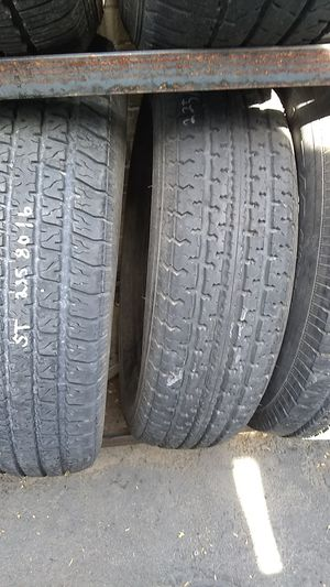 Assortment of used trailer tires. $30ea for Sale in Tucson, AZ