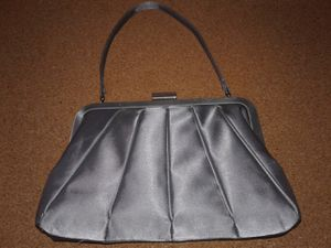 SILVER SATINY EVENING /PARTY PURSE by Preston & York for Sale in Manteca, CA