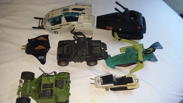 Gi Joe Vehicles