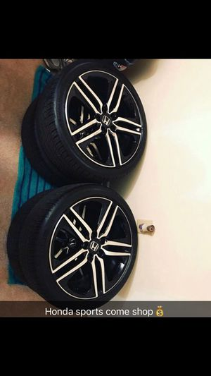 Honda sport rims for Sale in Fort Washington, MD