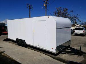8 1/2 x 24 x 7 Enclosed Cargo Trailer Free Delivery for Sale in Santa Maria, CA