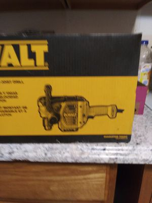 NEW DEWALT 1/2 VSR STUD & JOIST DRILL WITH CLU 2 NEW IN THE BOX 150.00 NO LOWER for Sale in Oaklandon, IN