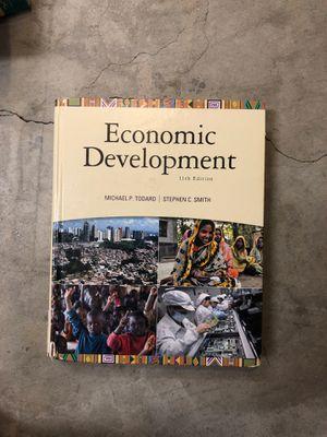 Economic Development 11th Edition- Michael P Todaro Stephen C Smith for Sale in Orange, CA