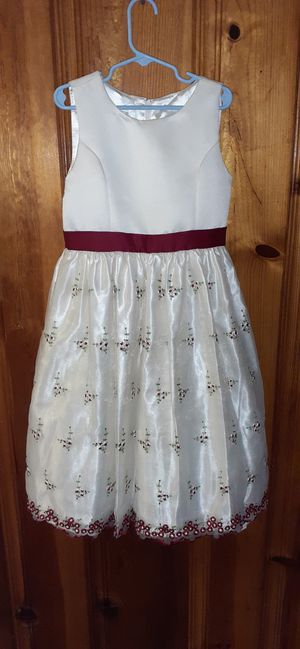 Girl's Special Occasion Holiday Wedding Dress Size 10 Flower Girl for Sale in Florissant, MO